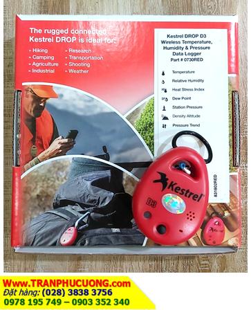 Kestrel DROP D3 _Máy đo vi khí hậu Kestrel DROP D3 Wireless Temperature, Humidity & Pressure Data Logger (Xuất xứ USA) |CÒN HÀNG